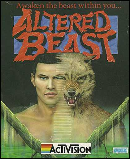 C64 Games - Altered Beast