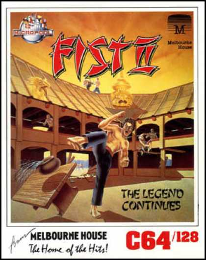 C64 Games - Fist II: The Legend Continues