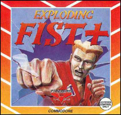 C64 Games - Exploding Fist +