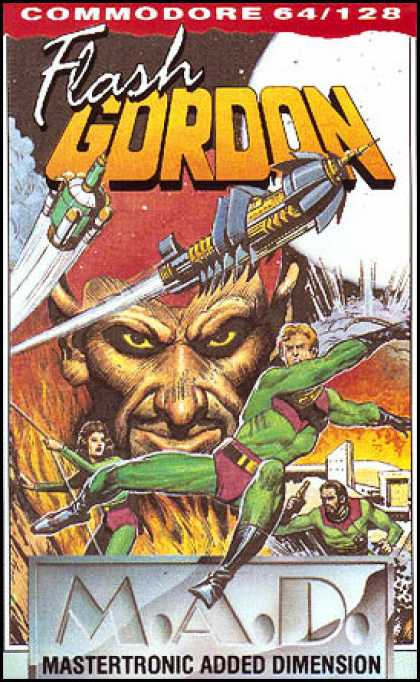 C64 Games - Flash Gordon