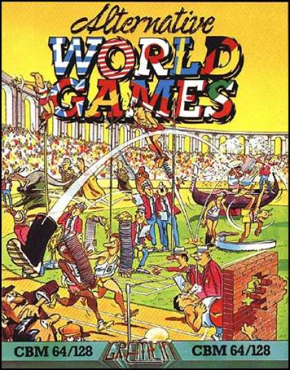 C64 Games - Alternative World Games