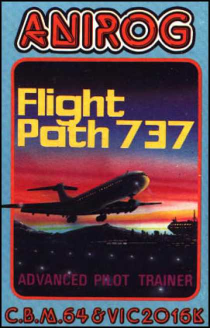 C64 Games - Flight Path 737
