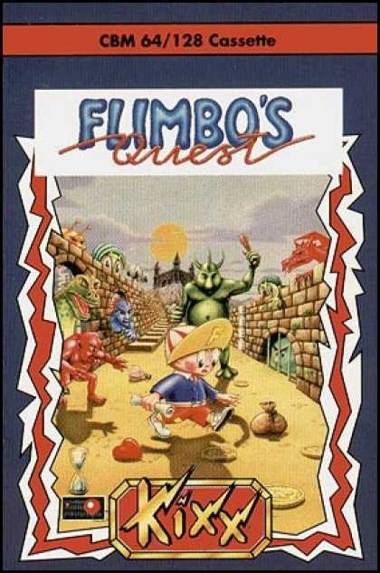 C64 Games - Flimbo's Quest