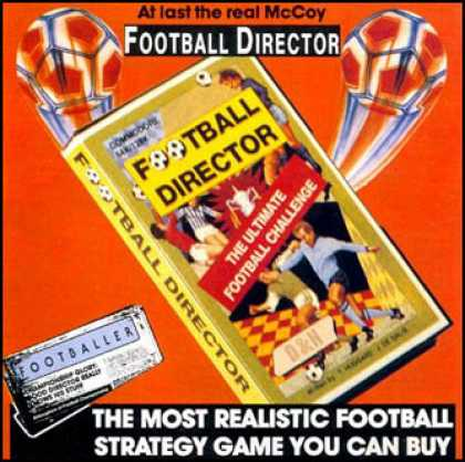 C64 Games - Football Director