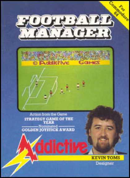 C64 Games - Football Manager