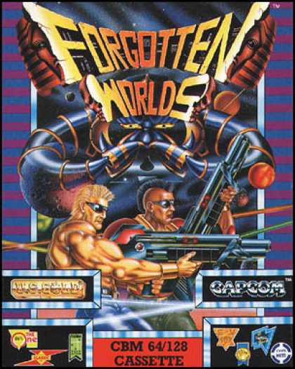 C64 Games - Forgotten Worlds