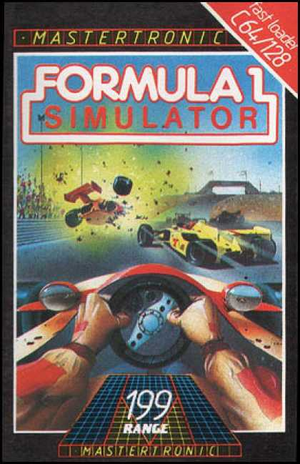 C64 Games - Formula 1 Simulator