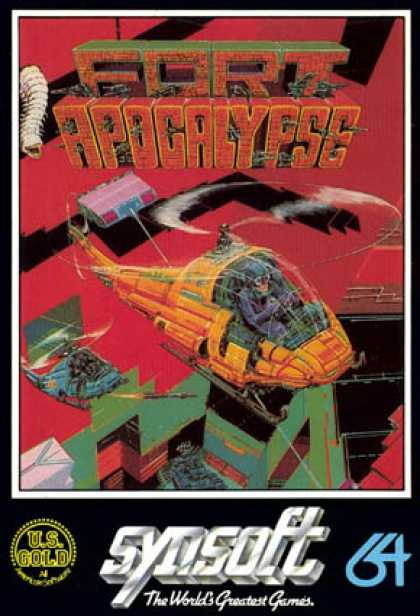 C64 Games - Fort Apocalypse