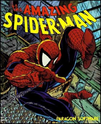 C64 Games - Amazing Spider-Man, The