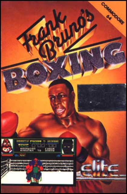 C64 Games - Frank Bruno's Boxing