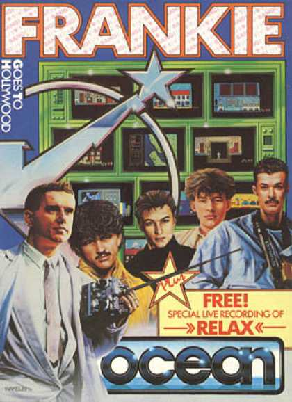 C64 Games - Frankie goes to Hollywood