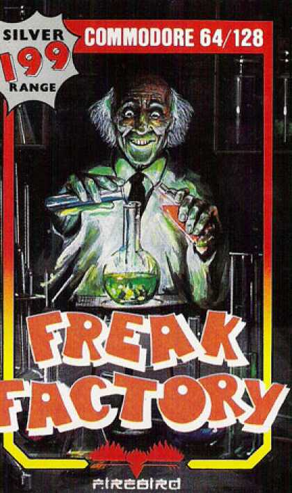 C64 Games - Freak Factory