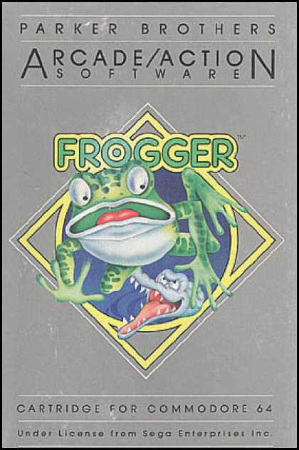 C64 Games - Frogger
