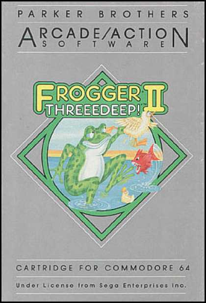 C64 Games - Frogger II: Threeedeep!