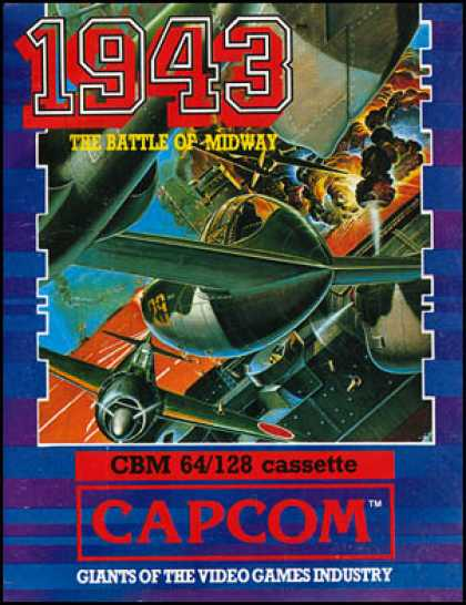 C64 Games - 1943: The Battle of Midway