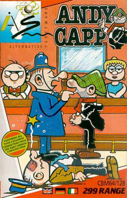 C64 Games - Andy Capp