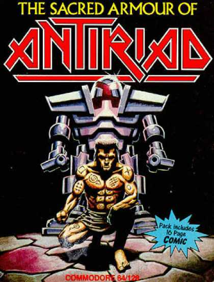 C64 Games - Antiriad