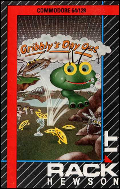 C64 Games - Gribbly's Day Out