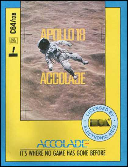 C64 Games - Apollo 18