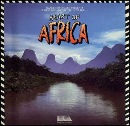C64 Games - Heart of Africa
