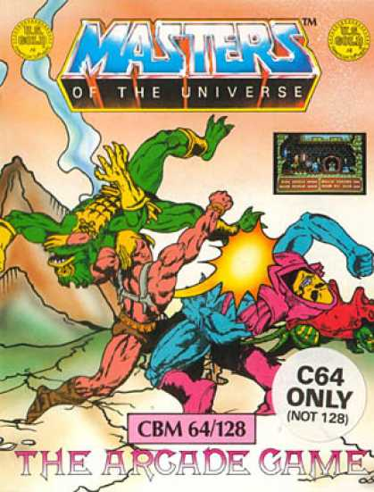 C64 Games - He-Man and the Masters of the Universe