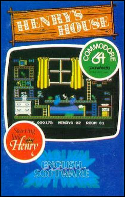 C64 Games - Henry's House