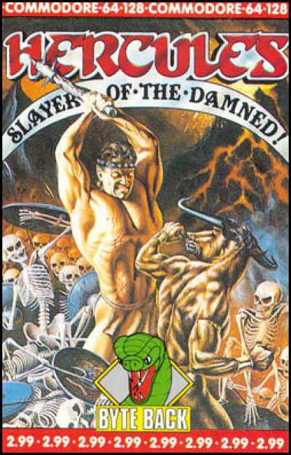 C64 Games - Hercules: Slayer of the Damned!