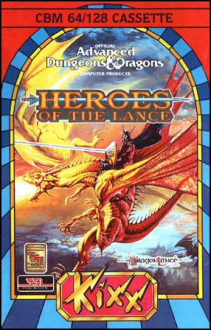 C64 Games - Heroes of the Lance