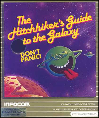 C64 Games - Hitchhiker's Guide to the Galaxy, The