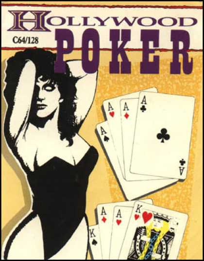 C64 Games - Hollywood Poker