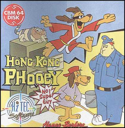 Hong Kong Phooey. C64 Games - Hong Kong Phooey