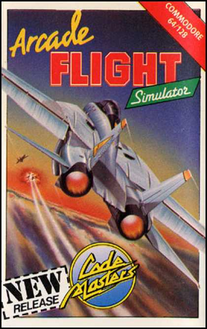 C64 Games - Arcade Flight Simulator