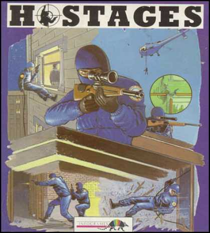 C64 Games - Hostages