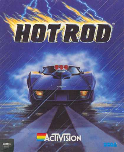 C64 Games - Hot Rod
