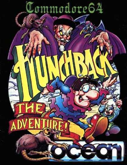 C64 Games - Hunchback: The Adventure
