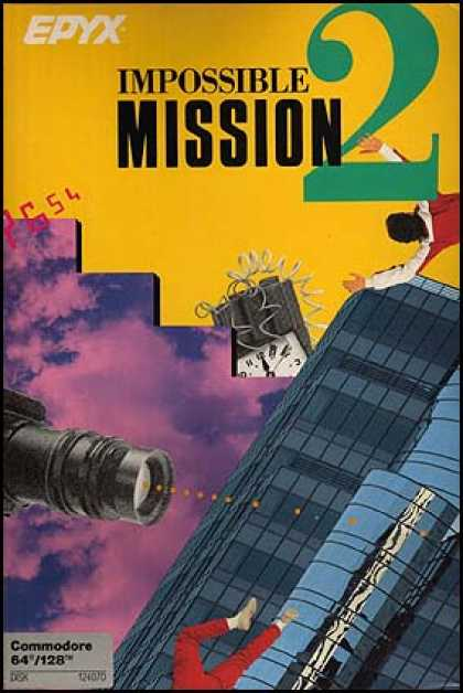 C64 Games - Impossible Mission 2