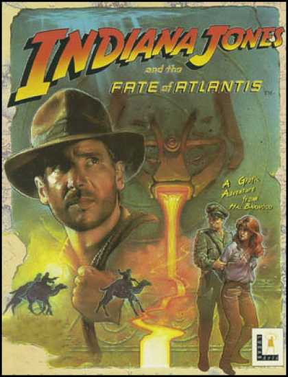 C64 Games - Indiana Jones and the Fate of Atlantis