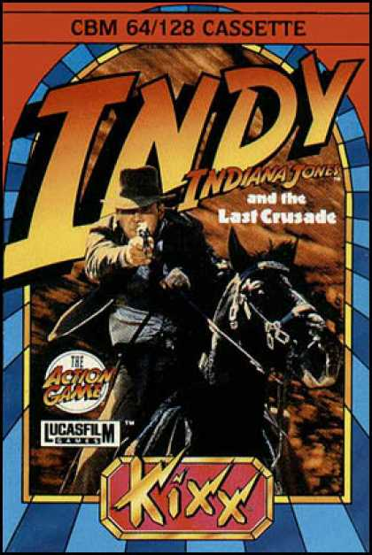 C64 Games - Indiana Jones and the Last Crusade