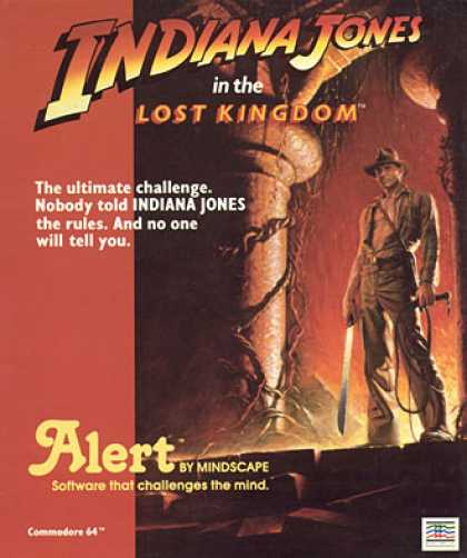 C64 Games - Indiana Jones in the Lost Kingdom