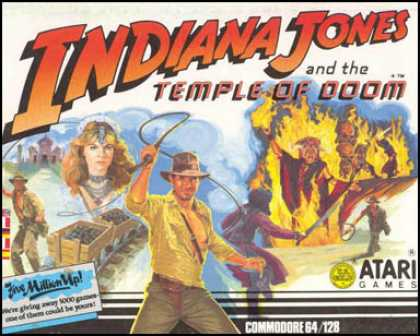 C64 Games - Indiana Jones and the Temple of Doom