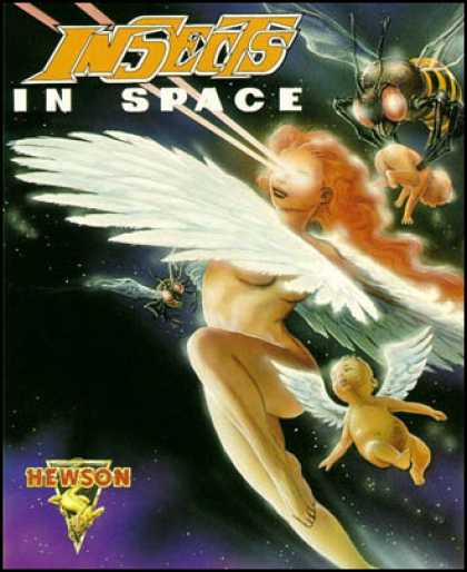 C64 Games - Insects in Space