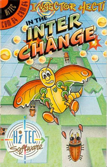 C64 Games - Insector Hecti in the Inter Change