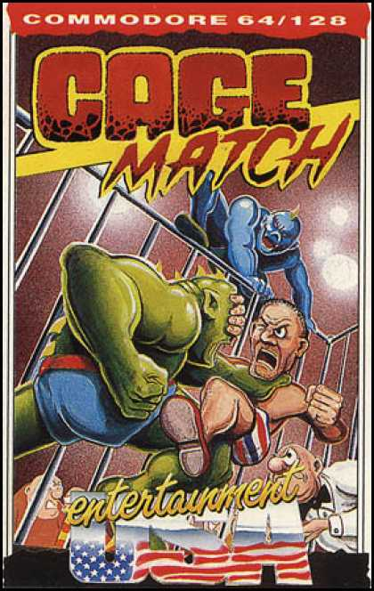 C64 Games - Cage Match