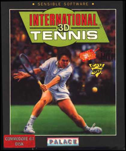 C64 Games - International 3D Tennis
