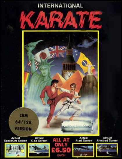 C64 Games - International Karate