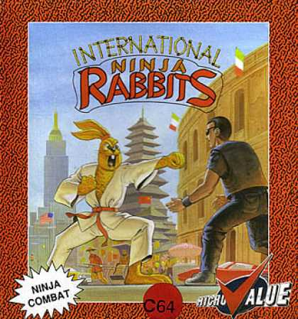 C64 Games - International Ninja Rabbits