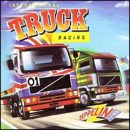 C64 Games - International Truck Racing