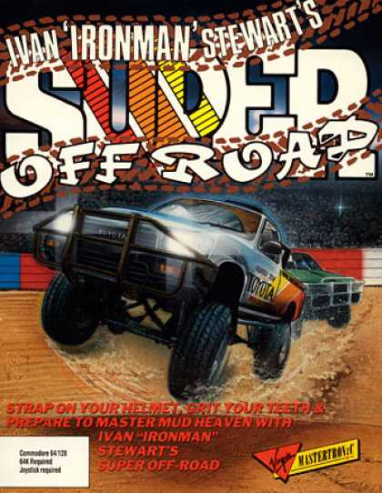 C64 Games - Ivan 'Ironman' Stewart's Super Off Road