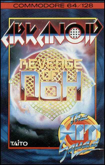 C64 Games - Arkanoid 2: Revenge of Doh