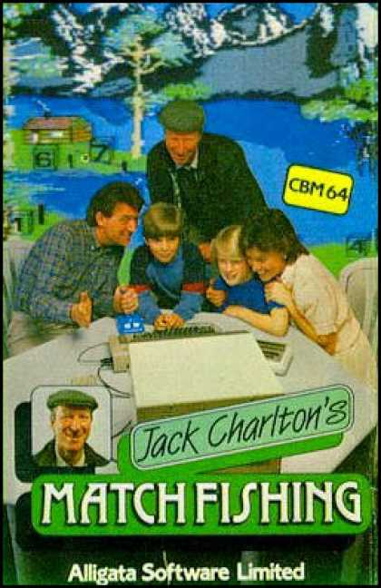 C64 Games - Jack Charlton's Match Fishing